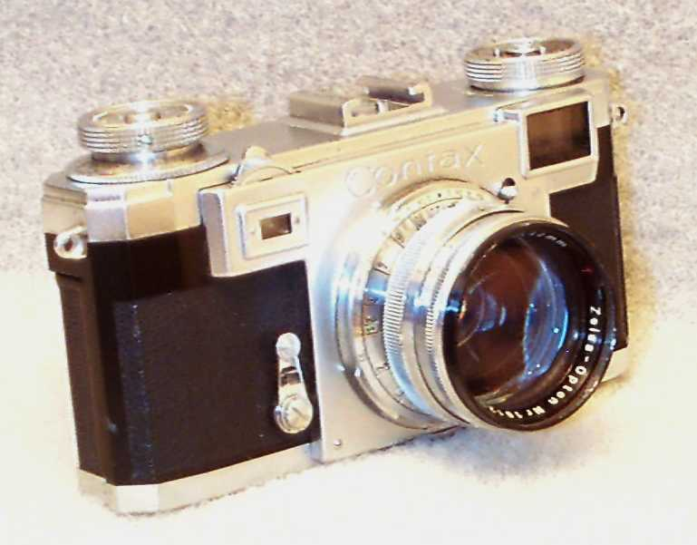 The Zeiss Ikon Contax Camera Repair Website - Servicing A